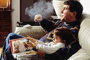 Leukemia tied to fathers who smoke